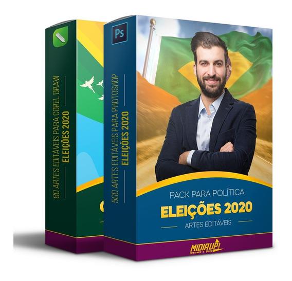 500 Artes Editáveis Para Campanha Politíca I Eleições 2020