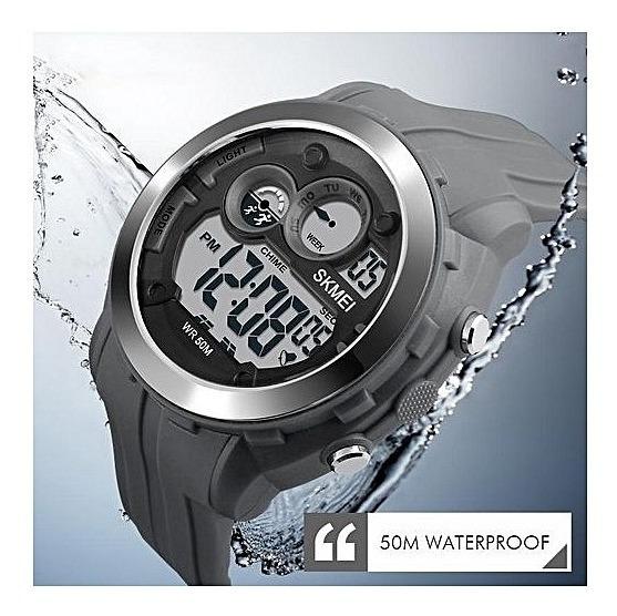 Relógio Skmei 1234 Original - Cinza - Queima Estoque