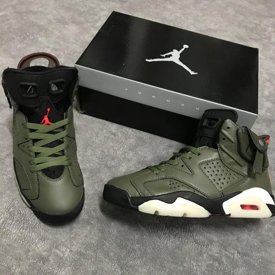 Zapatillas Tenis Nike Air Jordan Retro 6 Hombre 2020