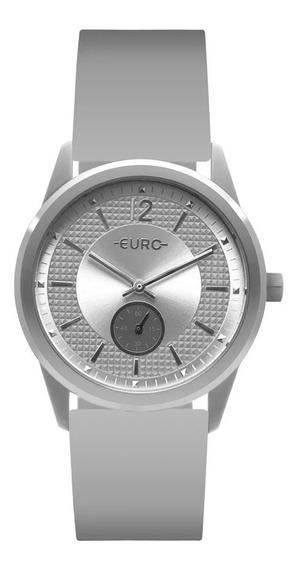 Relógio Euro Eu1l45aa/8k Branco/prata