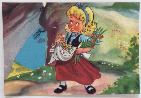 Antigua Tarjeta Postal Infantil N° 2 Codex Año 1952