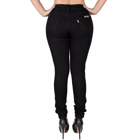 4 Calça Jeans Feminina Cintura Alta Hot Pant Com Laycra Pani
