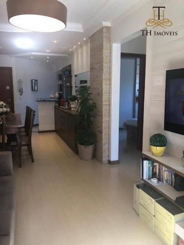 Apartamento Com 2 Dormitórios À Venda, 82 M² Por R$ 360.000,00 - Vila Nova - Blumenau/sc - Ap0851