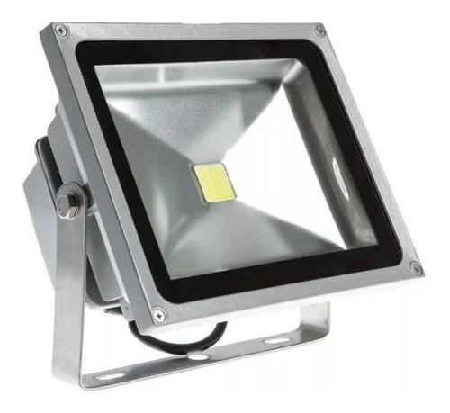 Reflector Foco Led Exterior 50w Blanco Cálido 500w