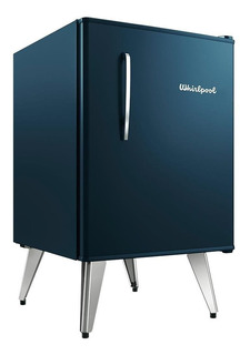 Heladera minibar Whirlpool WRA09 midnight blue 76L 220V