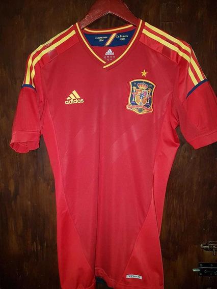 Camiseta Selección España adidas 2012 Techfit!!
