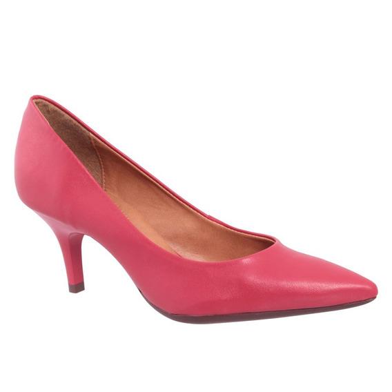 Sapato Eco Verniz Vermelho Via Uno
