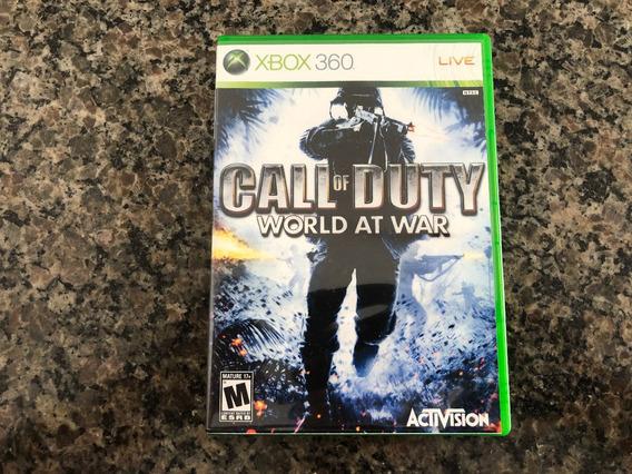 Call Of Duty World At War Xbox 360 Original Americano