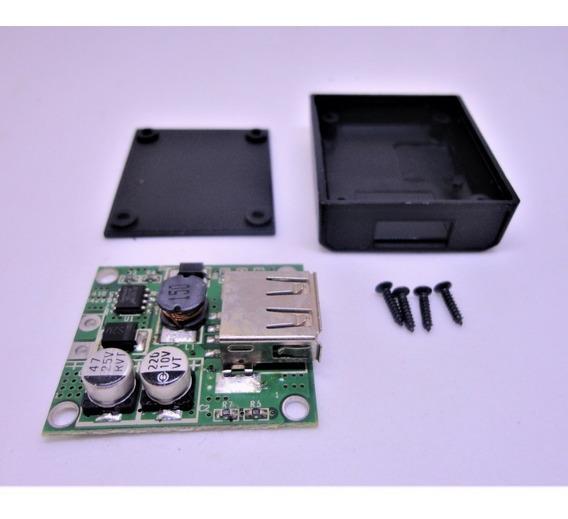 1 Módulo Controlador De Carga Dc Dc Saída Usb/caixa Proteção