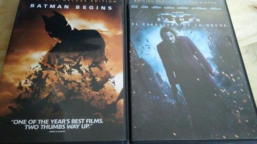 Imagen 1 de 3 de Batman - 2 Películas En Dvd Doble
