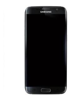 Tela Touch Display Aro + Tampa + Pelicula Uv S7 Edge G935