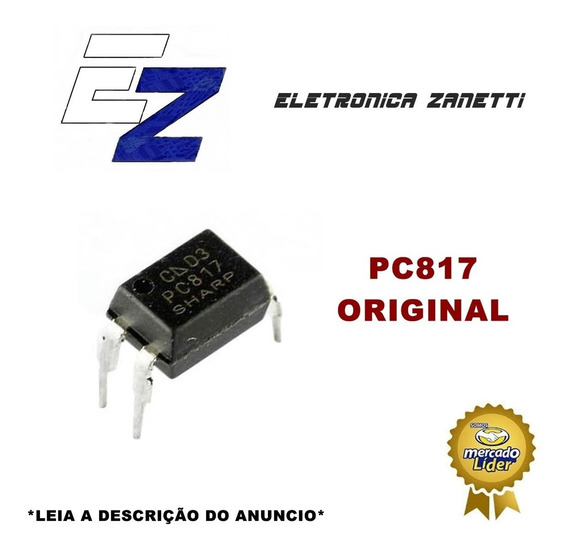 10 X Ci Pc817 Pc 817 Fotoacoplador Novo, Original