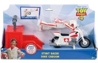 Toy Story 4 -stunt Racer - Duke Caboom - Original - Mattel