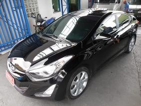 Hyundai Elantra 1.8 16v Gls Aut. 4p 2013 Preto Com Teto