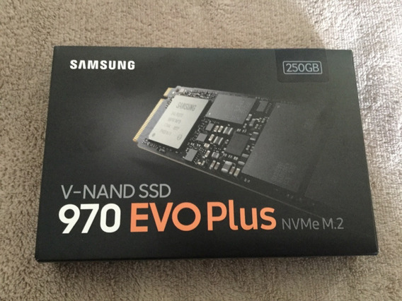 Ssd Samsung Evo 970 Plus, 256gb