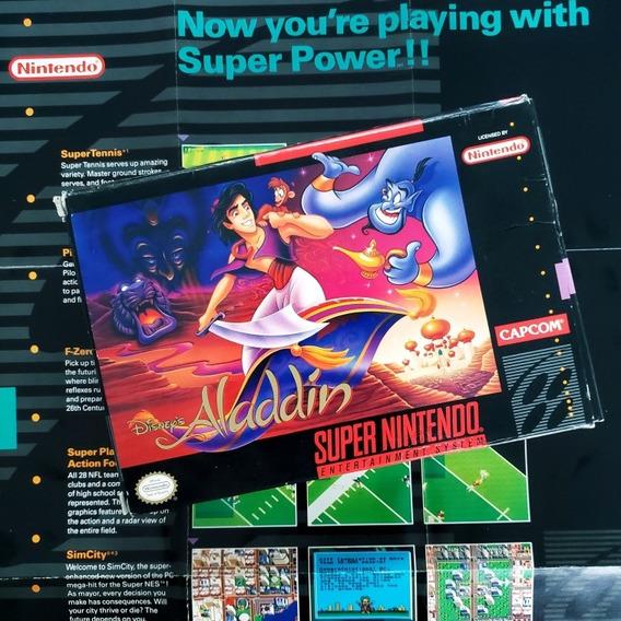 Aladdin Completa Cib Original Snes Super Nintendo