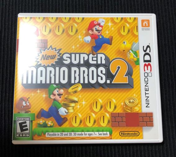 New Super Mario Bros 2 Nintendo 3ds Completo Americano