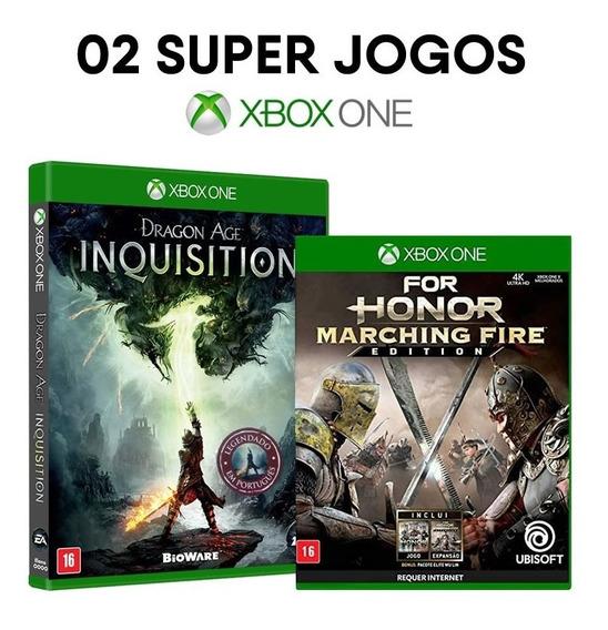 Dragon Age Inquisition + For Honor Xbox One [ Mídia Física ]