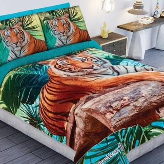Edredón Amazonas Aborregado Tigre Matrimonial Providencia