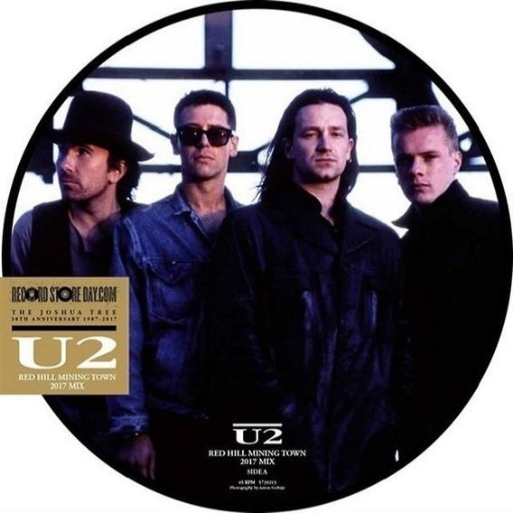 U2 Red Hill Mining Town Vinilo Single Picture Stock Nuevo