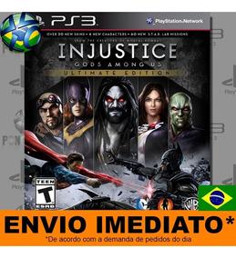 Injustice Gods Among Us Ultimate Edition - Ps3 - Envio Agora