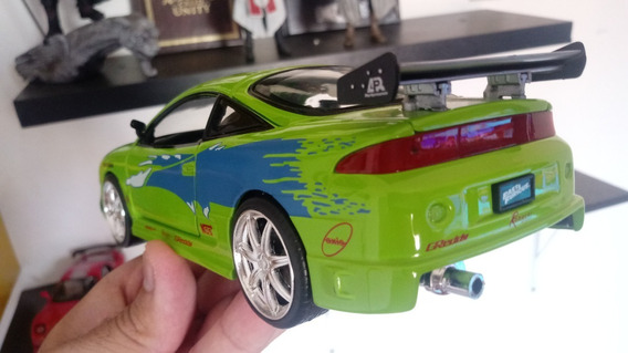 Miniatura Mitsubishi Eclipse Brian Veloses E Furiosos 1;24