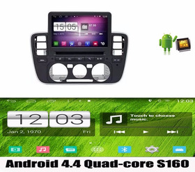 Central Multimidia Android Quad Core 4.4 Volks Up Wifi Waze