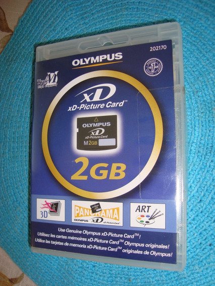 Memoria Olympus Xd De 2 Gb. Camaras Digitales Y Videocamaras