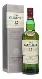 Whisky Glenlivet 12 Años 750 Ml En Estuche!