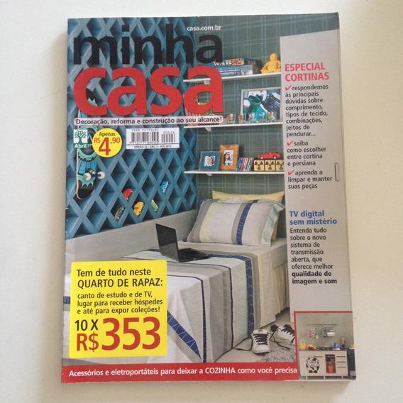 Revista Minha Casa N26 Jun2012 Quarto De Rapaz / Cortinas C2