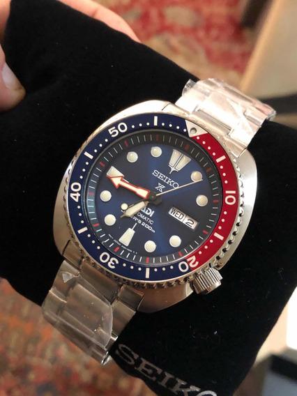 Relógio Seiko Turtle Prospex Padi Automático Srpa21