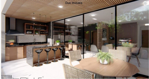 Casa Térrea Com Projeto Moderno No Beira Da Mata - Ca01793 - 34959190