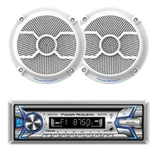 Power Acoustik Mcd1265 1din Cd Mp3 Am Fm Usb Aux Bt Con P