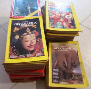 Coleção Revistas Geográfica Universal - 118 Exemplares