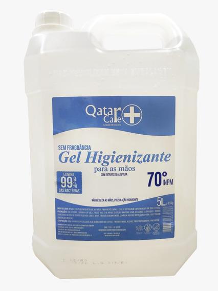 Álcool Gel 70% Antisséptico Higienizador - 5 Litros