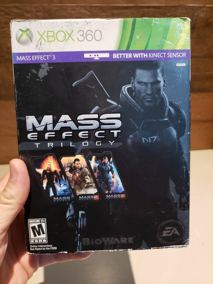 Mass Effect Trilogy Xbox 360 Original
