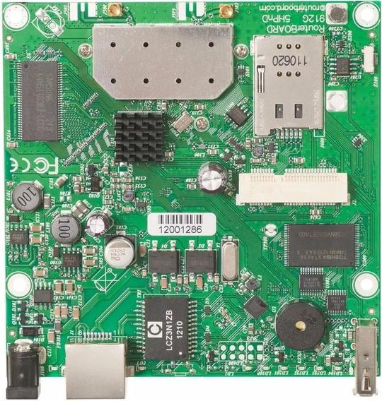 Mikrotik Routerboard Rb912 Rb912uag-5hpnd Licença Nivel 4