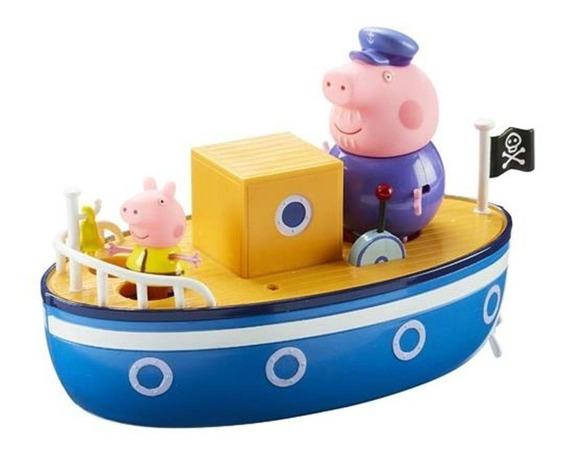 Peppa Pig - Barco Do Vovô Pig 4202 Dtc *frete Grátis