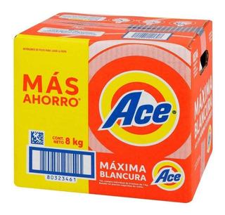 Detergente En Polvo Ace 8k