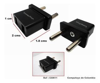 Zcon11 Adaptador Plano A Toma Redondo Qcon11q Compu-toys