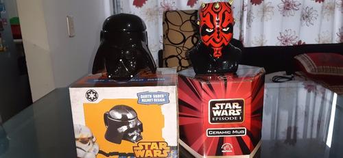 The Darths ( Vader And Maul) Dos Mugs De Ceramica