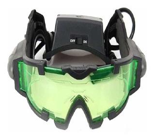 Óculos De Visão Noturna Caça Pesca Ciclismo Airsoft Luz