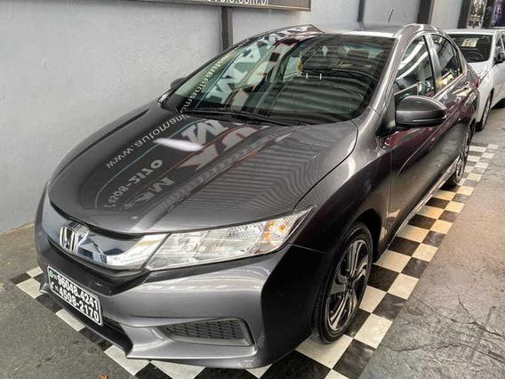 Honda City Sedan Lx Automático 1.5 Flex Unico Dono Bx Km