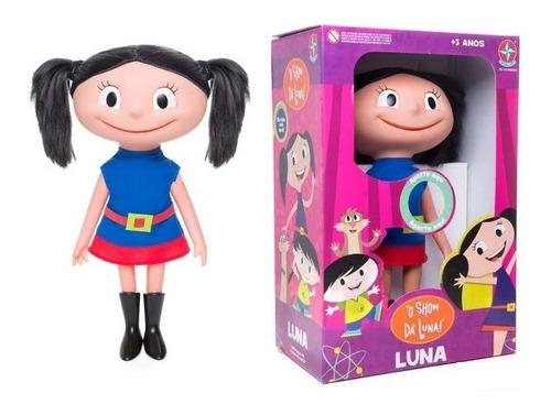 Imagem 1 de 6 de Boneca Show Da  Luna 40cm - Fala E Canta - Brinquedo Estrela