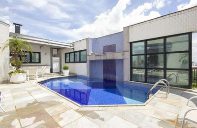 Penthouse Em Jardim Anália Franco, São Paulo/sp De 463m² 4 Quartos À Venda Por R$ 3.750.000,00 - Ph260815