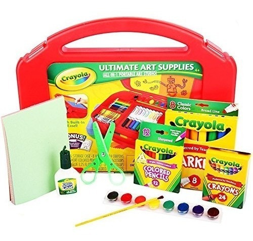 Lançamento - Crayola Ultimate Art Supplies - 85 Peças