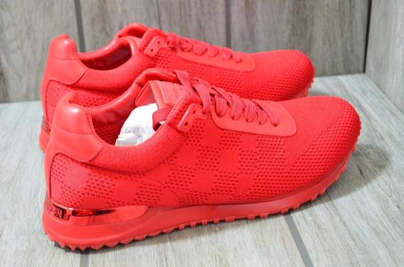 Sneakers Louis Vuitton Runaway Monogram Red