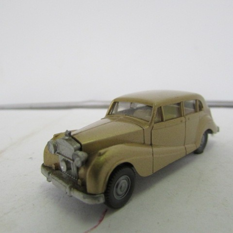Escala Ho Wiking Carro Rolls Royce Dourado 1951 Jorgetrens