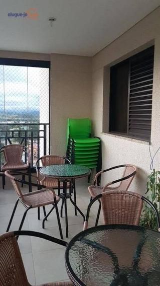 Apartamento Com 4 Dormitórios À Venda, 157 M² Por R$ 1.200.000 - Jardim Esplanada Ii - São José Dos Campos/sp - Ap8393