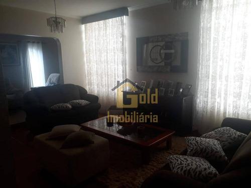 Casa Com 3 Dormitórios À Venda, 190 M² Por R$ 530.000,00 - Parque Industrial Lagoinha - Ribeirão Preto/sp - Ca1084